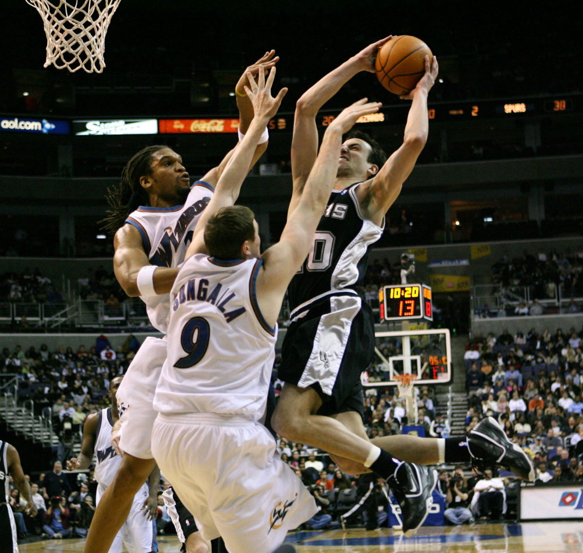manu ginobili Ginobili was reportedly set to meet with spurs head coach gregg popovich last week per espn's adrian wojnarowskithe 16-year veteran had yet to make a decision on his future, according to the report.