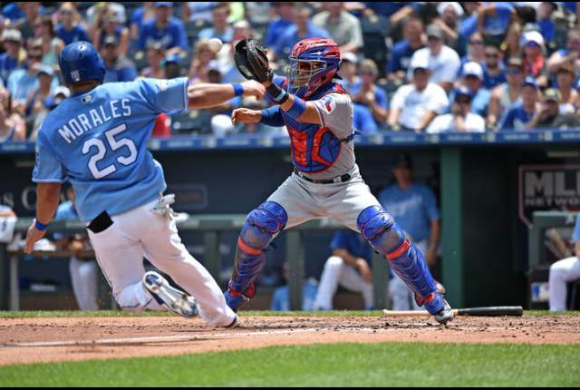 Rangers edge Royals behind strong effort from Griffin