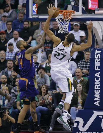 Jazz hold on for 112-105 win over Suns