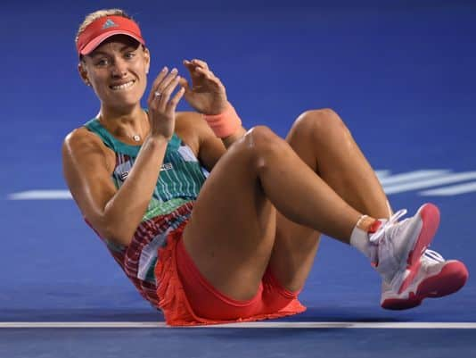 Kerber survives in Dubai